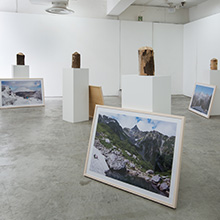 exhibition | Mountains and a Dog (山と犬), 2014