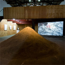 exhibition | the small mountain, 2009